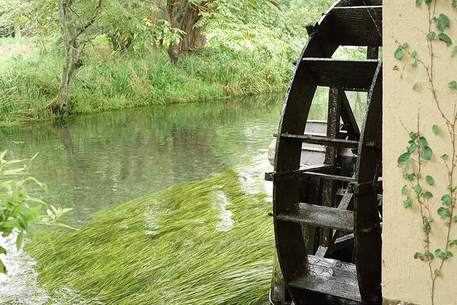 安曇野水車