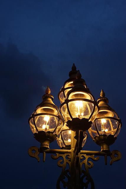 松本の街灯