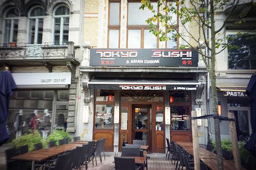 ベルギー寿司屋