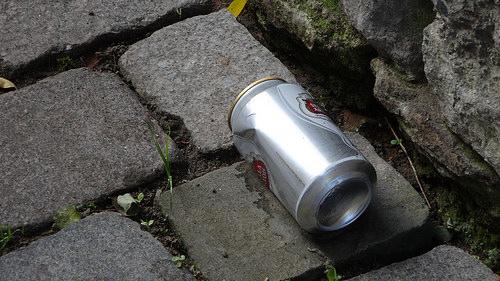 ベルギー空き缶