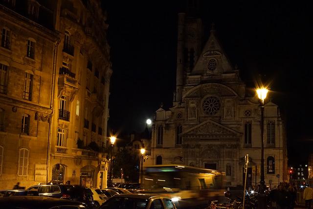 サン テティエンヌ デュ モン教会