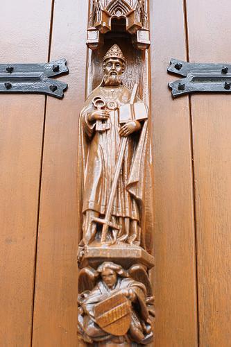 ルーヴェン市庁舎の扉