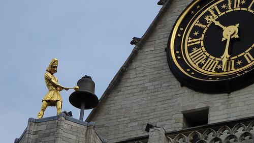 聖ペテロ教会の屋根