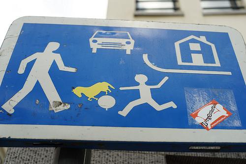 ベルギーの標識