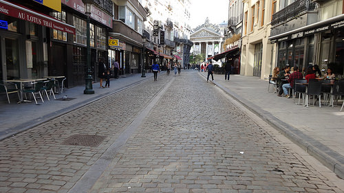 ブリュッセル街並み