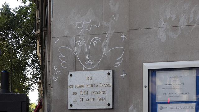 パリの落書き