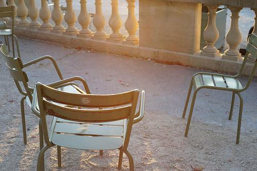 パリのベンチ