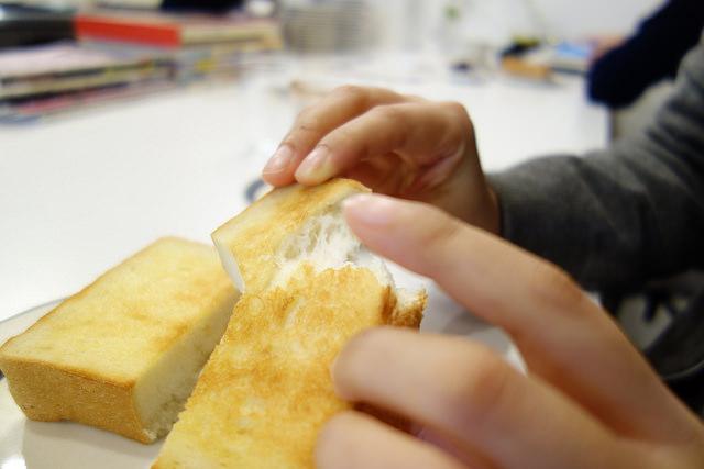 メガネカフェのパン