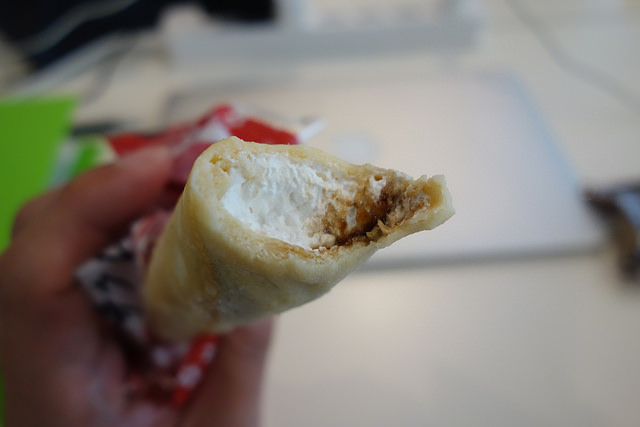 信玄餅クレープ