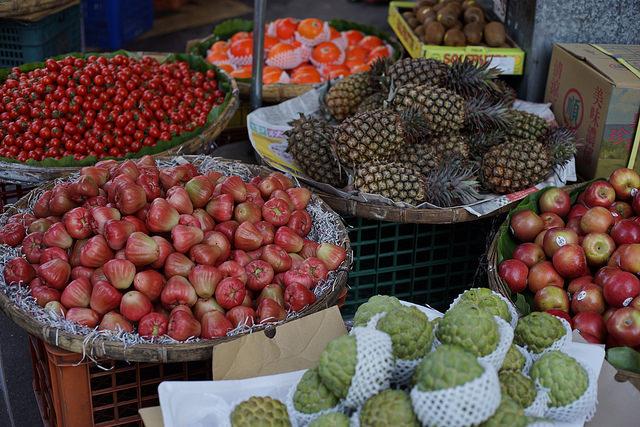 台北の果物
