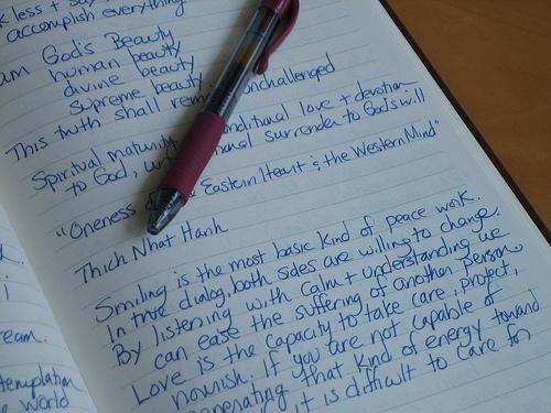 journal, pen 3