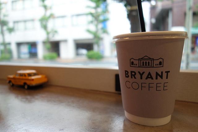 BRYANT COFFEEのアイスコーヒー