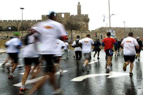 Jerusalem Marathon 2012
